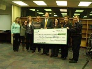 Check presentation to BOE 2-25-14